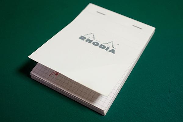 ロディア ブロックロディア ホワイト No.13