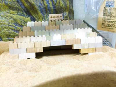もくロックで作ったレオパのお家