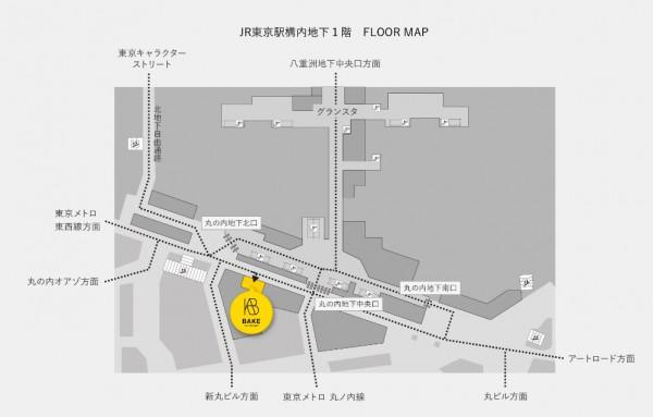 BAKE地図