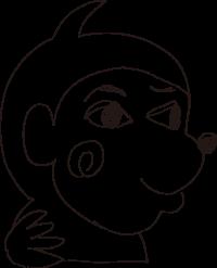 田中の描いたサル