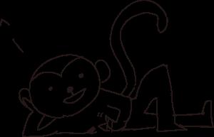 田中の描いたサル2