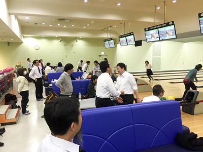 東グラ共済会ボウリング大会