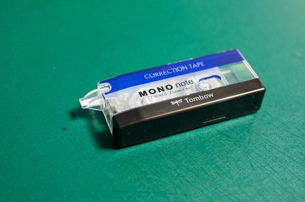 修正テープ トンボ鉛筆 MONO note