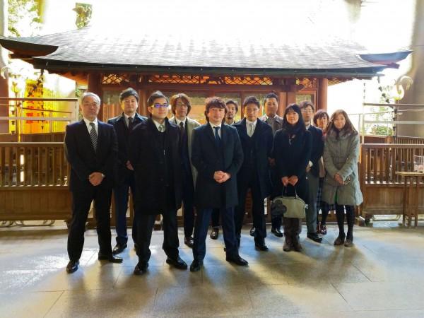 初詣 五反田 雉子神社