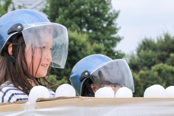 盛夏雪合戦2016子供向け雪合戦教室