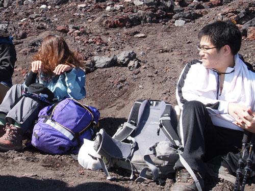 富士山 9号目広場
