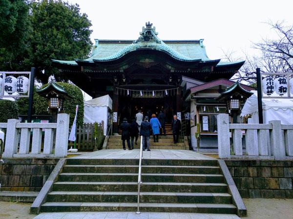 氷川神社(西五反田)