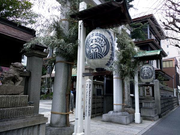 鐵砲洲稲荷神社(中央区湊)