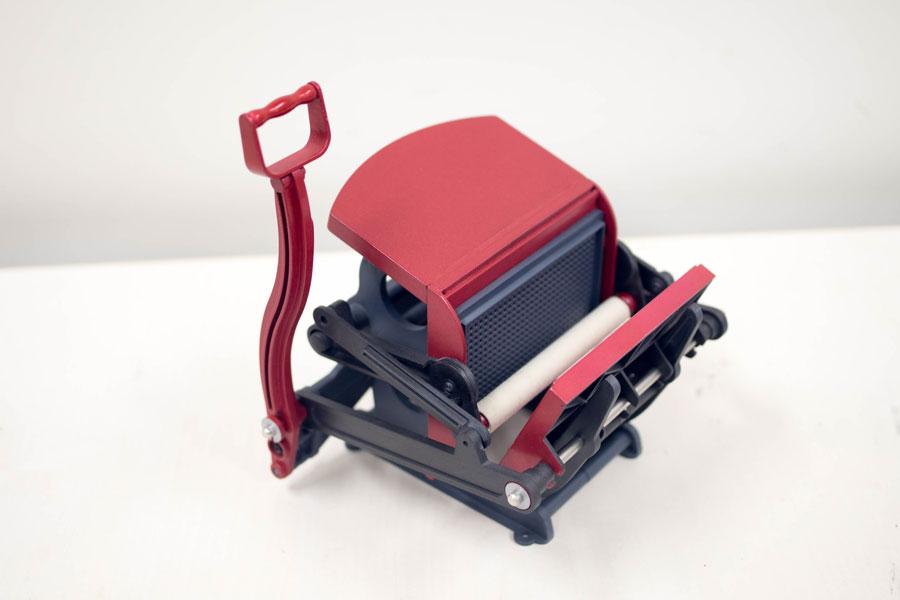 学研 小さな活版印刷機 塗装 改造