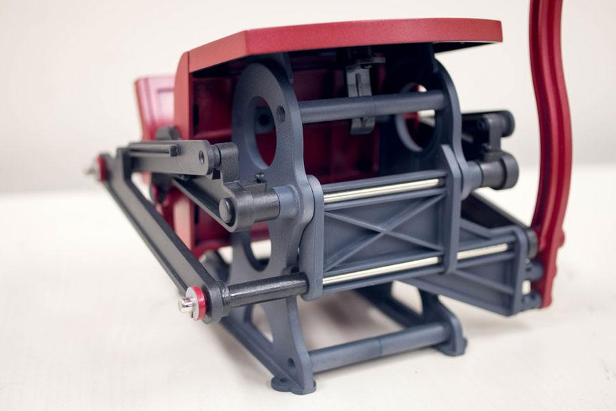 学研 小さな活版印刷機 改造 塗装