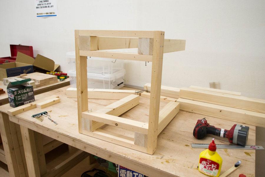 DIY木工 作業台