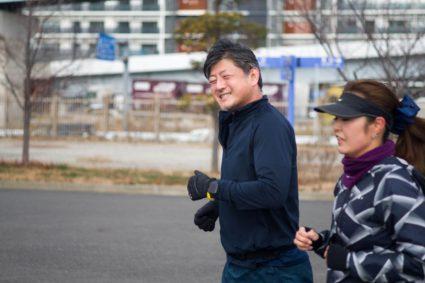 東京マラソン2019 スマイルランナー練習