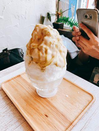 ブンブンブラウカフェ かき氷