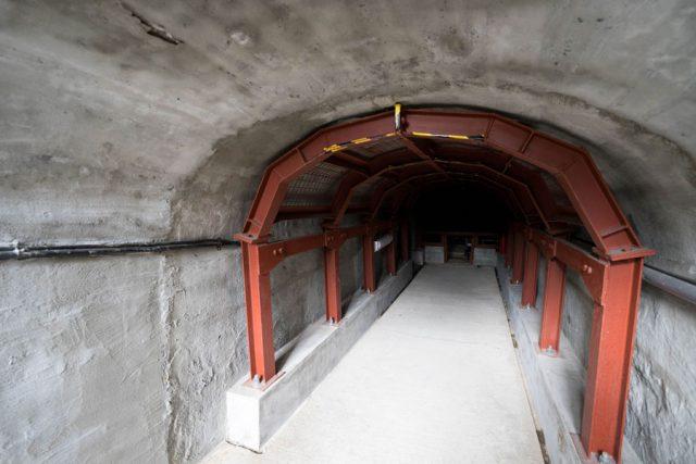 三川坑跡 炭鉱電車