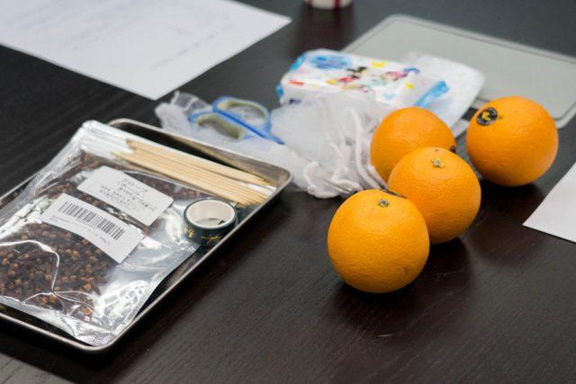 フルーツポマンダー オレンジポマンダー