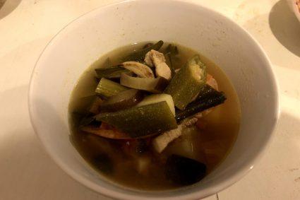 シニガンスープ