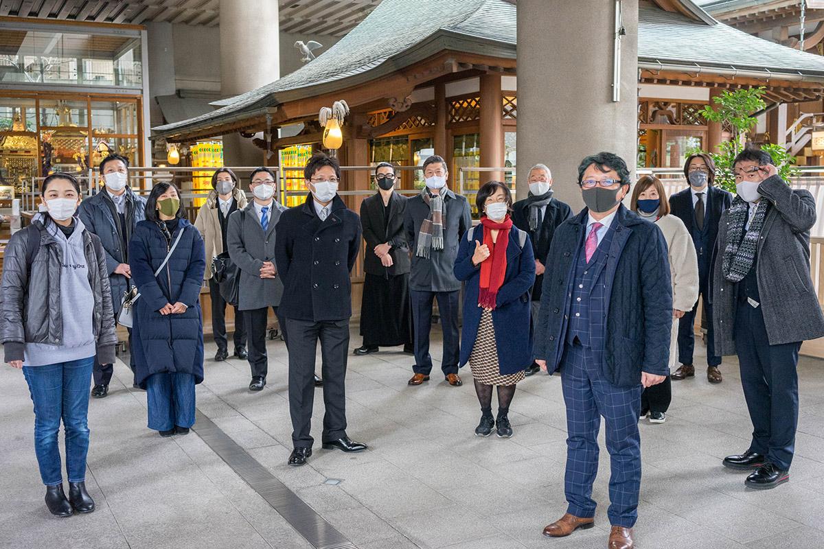 五反田 雉子神社 初詣 グッドクロス