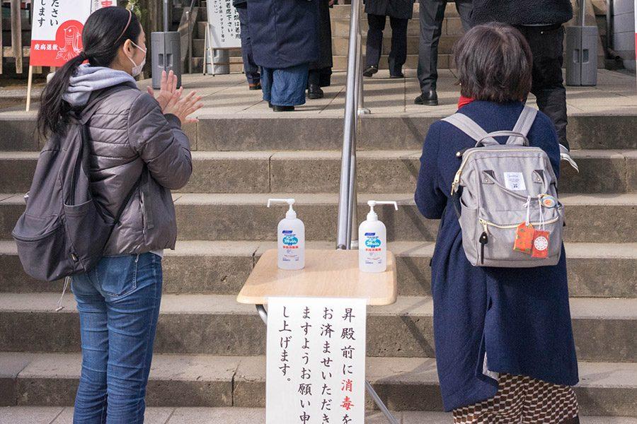 五反田 氷川神社 初詣